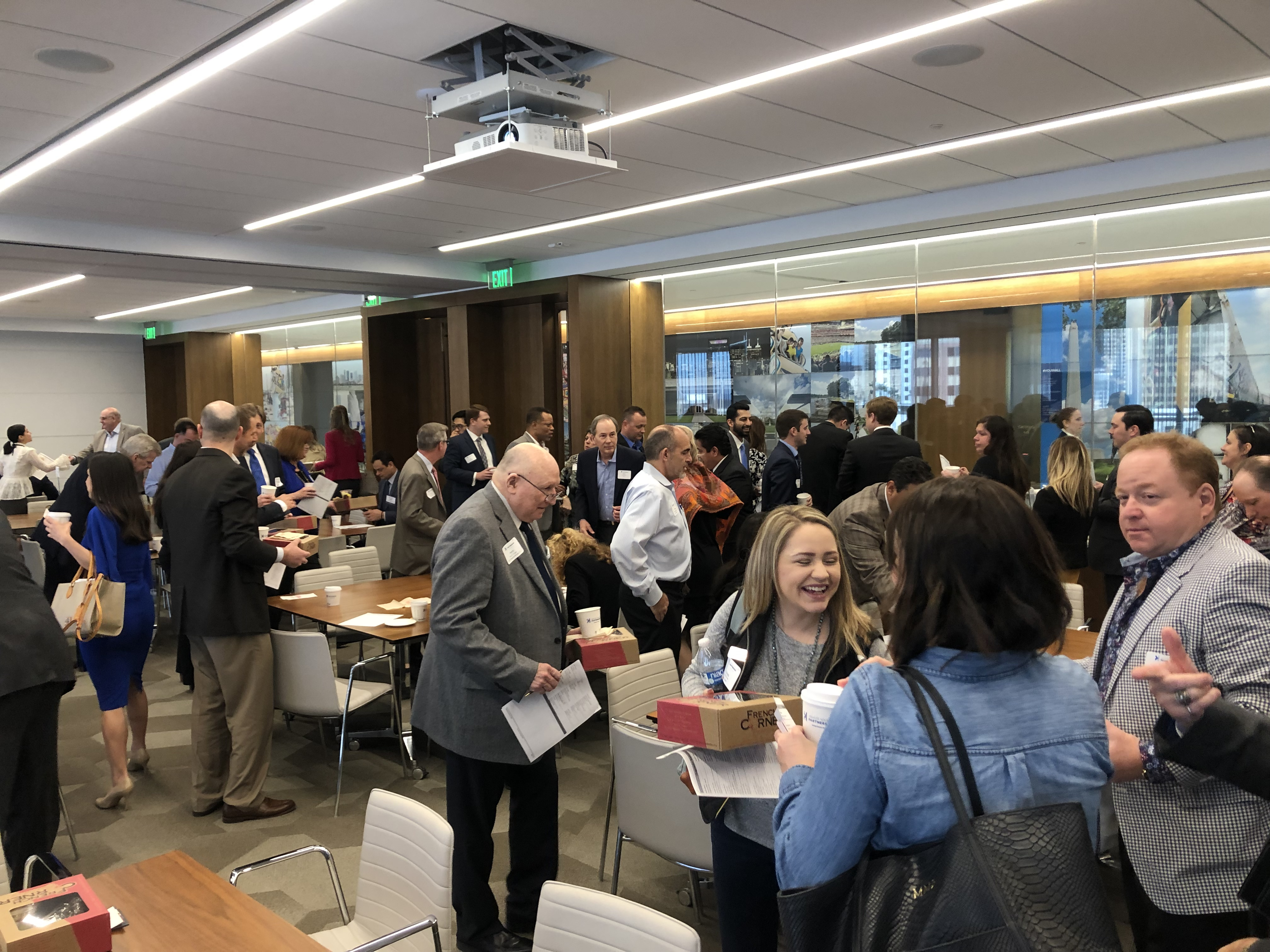 progressive networking breakfast