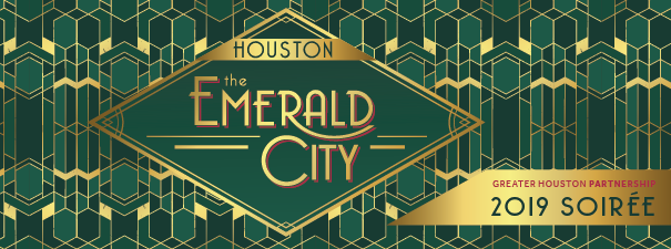 The 2019 Soiree theme is Houston, The Emerald City