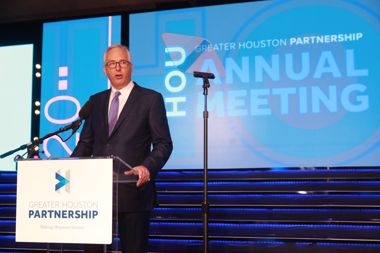 Bobby Tudor Remarks at Partnership 2020 Annual Meeting